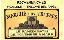 Logo Richerenches march aux truffes