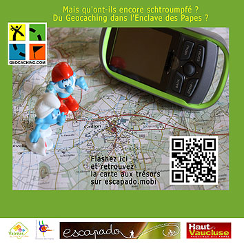 geocaching enclave des papes-miniature